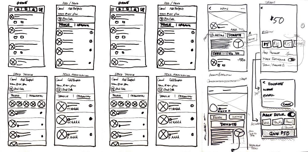 venmo-sketches